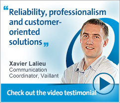 Xavier Lalieu, Vaillant - Reliability, professionalism and customer-oriented solutions